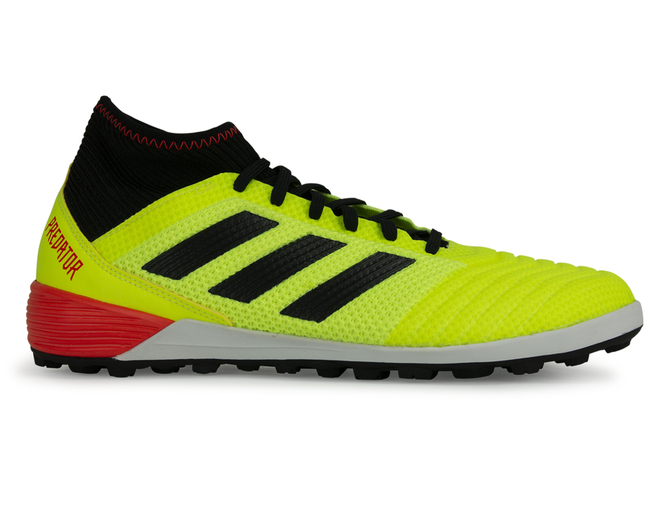 adidas Men's Predator Tango 18.3 Turf Soccer Shoes Solar Yellow/Core Black