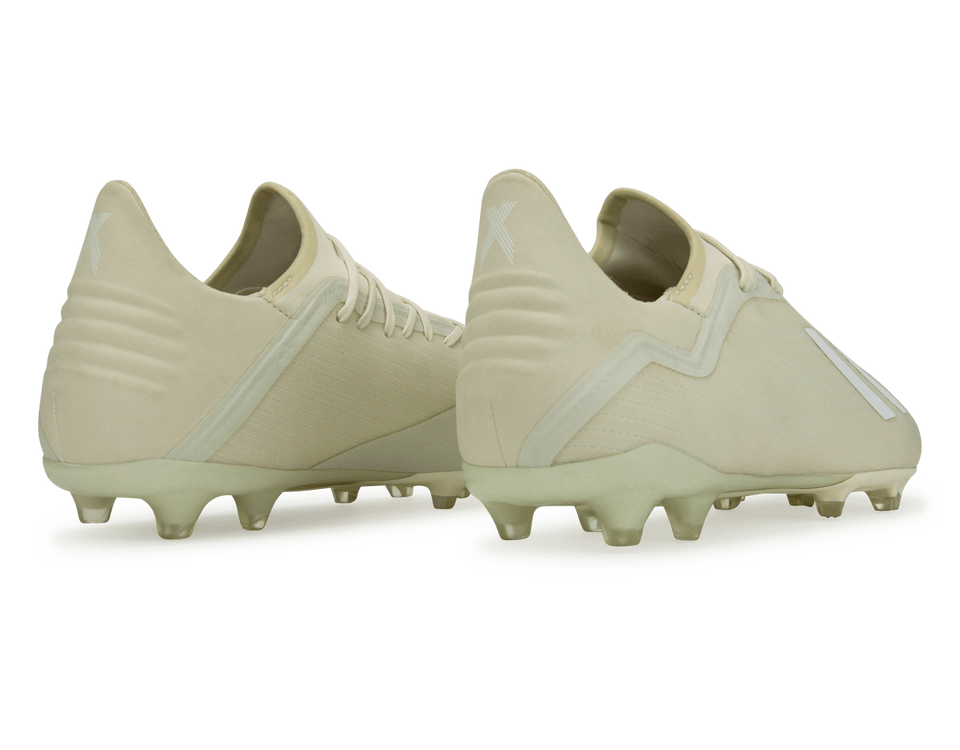 adidas Men's X 18.2 FG Beige/Cloud White /Core Black