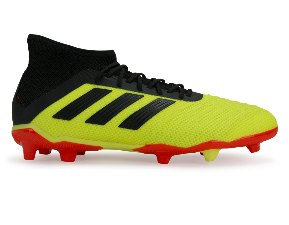 adidas Kids Predator 18.1 FG Solar Yellow/Core Black
