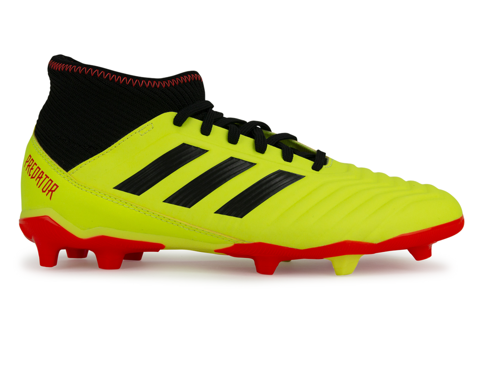 adidas Kids Predator 18.3 FG Solar Yellow/Core Black/Solar Red