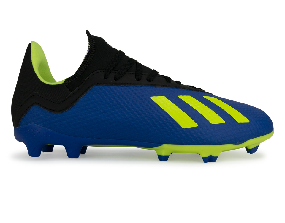 adidas Kids X 18.3 FG Footblue/Solar Yellow/Core Black