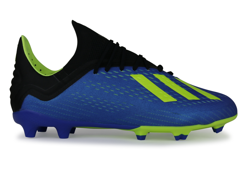 adidas Kids X 18.1 FG Footblue/Solar Yellow/Core Black