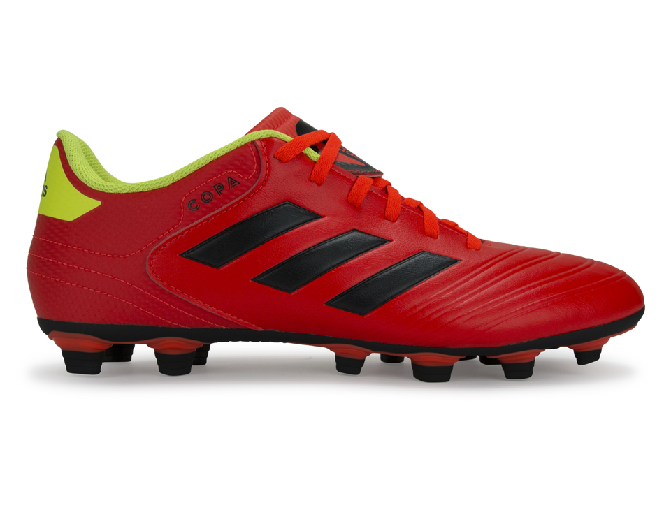 adidas Men's Copa 18.4 FG Solar Red/Core Black