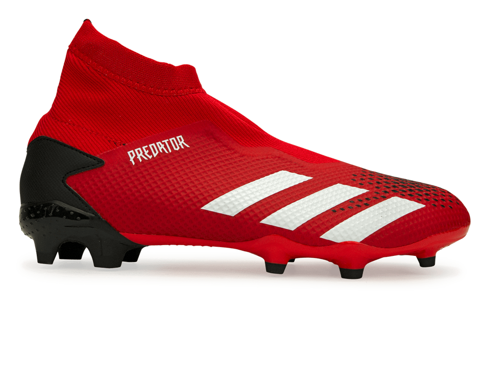 adidas Men's Predator 20.3 FG Active Red/Cloud White/Core Black
