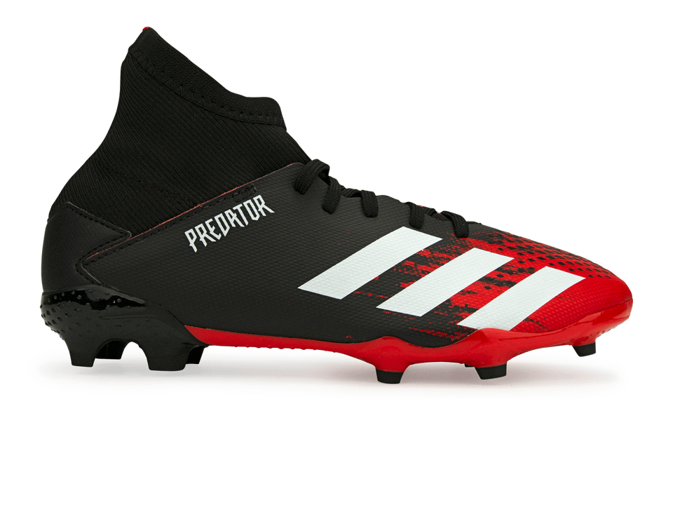 adidas Kids Predator Mutator 20.3 FG Core Black/White
