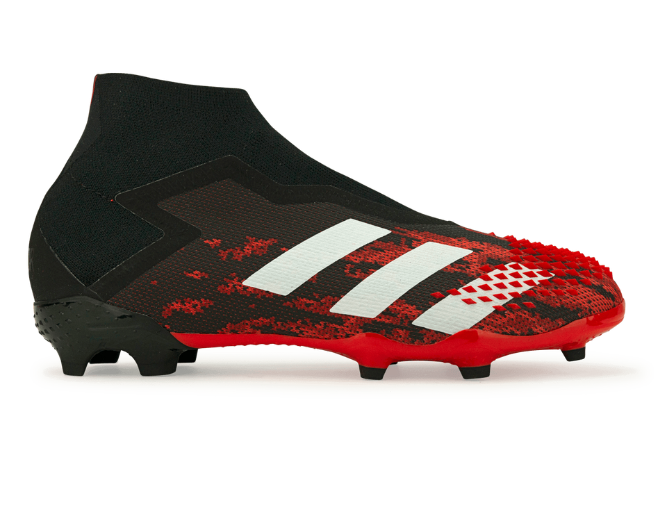 adidas Kids Predator Mutator 20+ FG Core Black/White