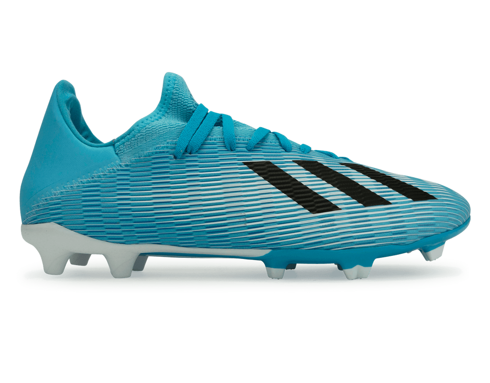 adidas Men's X 19.3 FG Bright Cyan/Core Black/Shock Pink