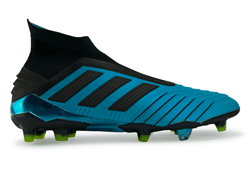 adidas Men's Predator 19+ FG Bright Cyan/Core Black/Shock Pink