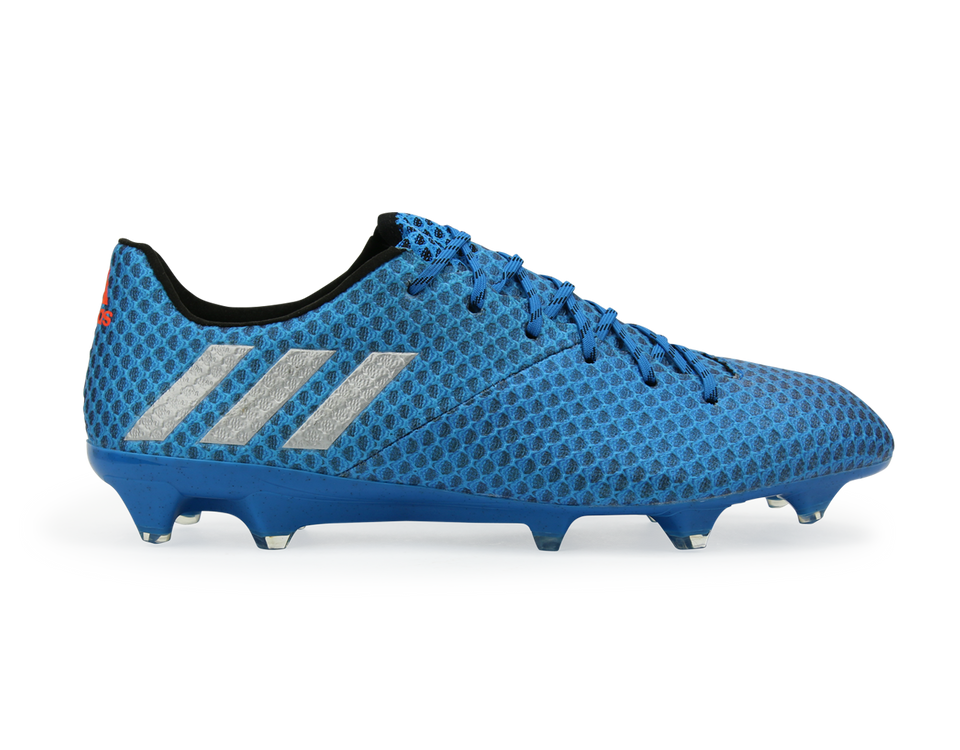adidas Men's Messi 16.1 FG/AG Sho Blue/Metallic Silver