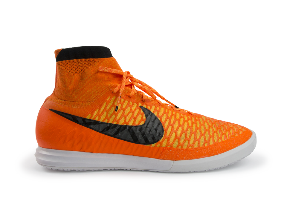 Nike Men's MagistaX Proximo Indoor Soccer Shoes Total Orange/Laser Orange/Hyper Punch