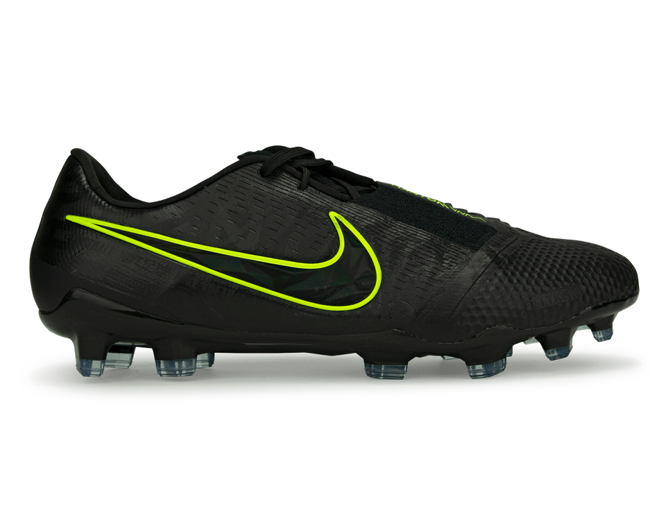 Nike Men's Phantom Venom Elite FG Black/Volt