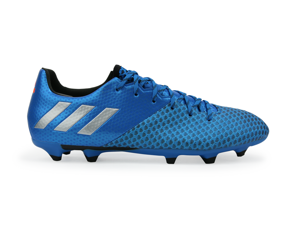 adidas Men's Messi 16.2 FG/AG Sho Blue/Metallic Silver