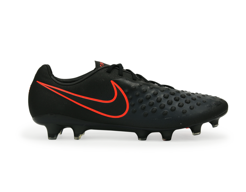 Nike Men's Magista Opus II FG Black/Total Crimson