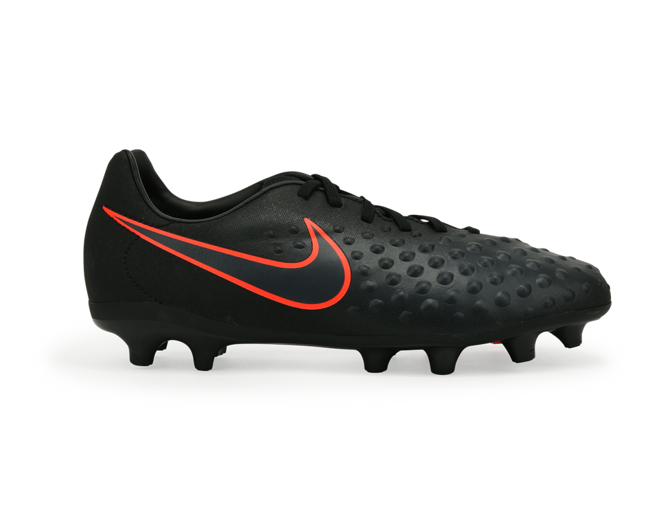 Nike Kids Magista Opus II FG Black/Total Crimson