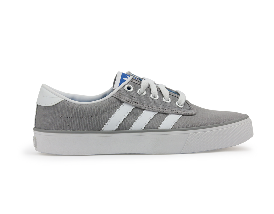 adidas Men's Kiel Shoes Aluminum/White/Bluebird