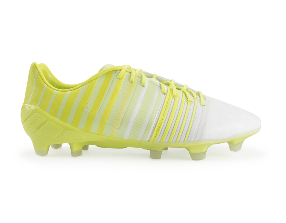 adidas Men's Nitrocharge 1.0 FG Running White