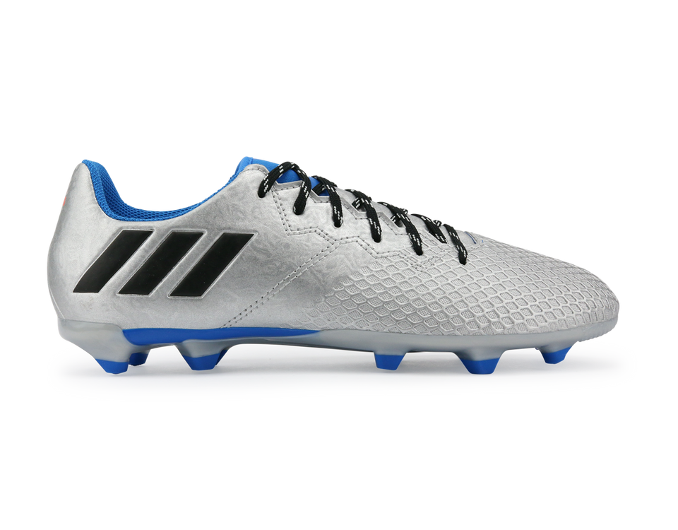 adidas Kids Messi 16.3 FG Silver Metallic/Core Black/Sho Blue