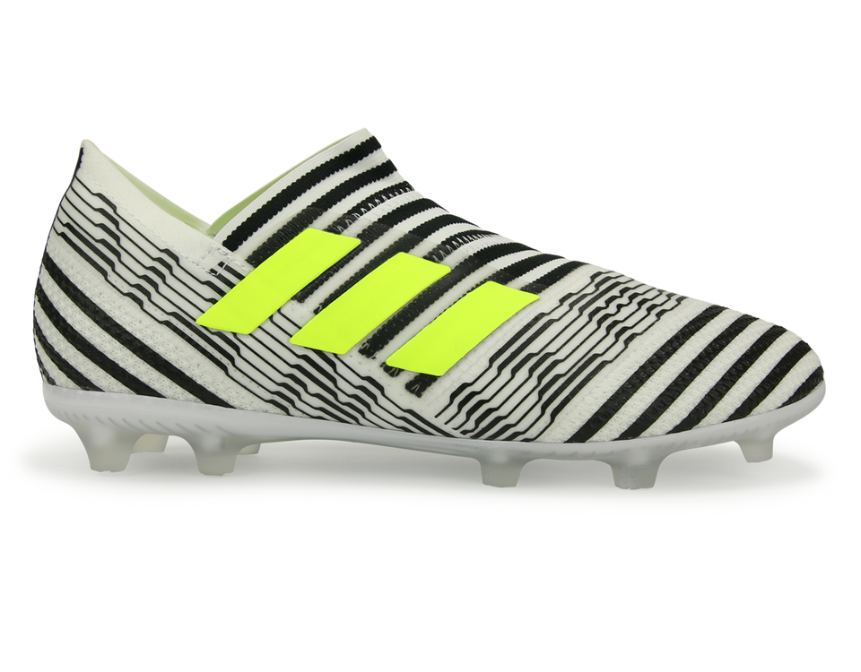adidas Kids Nemeziz 17+ FG White/Solar Yellow/Core Black