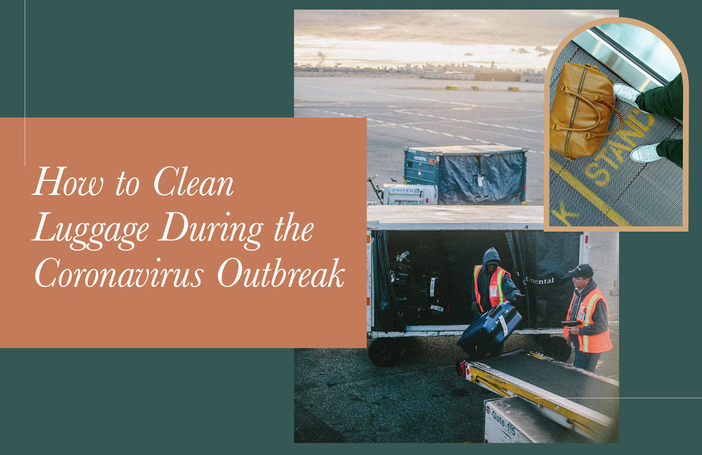 How to Clean Luggage During the Coronavirus Outbreak