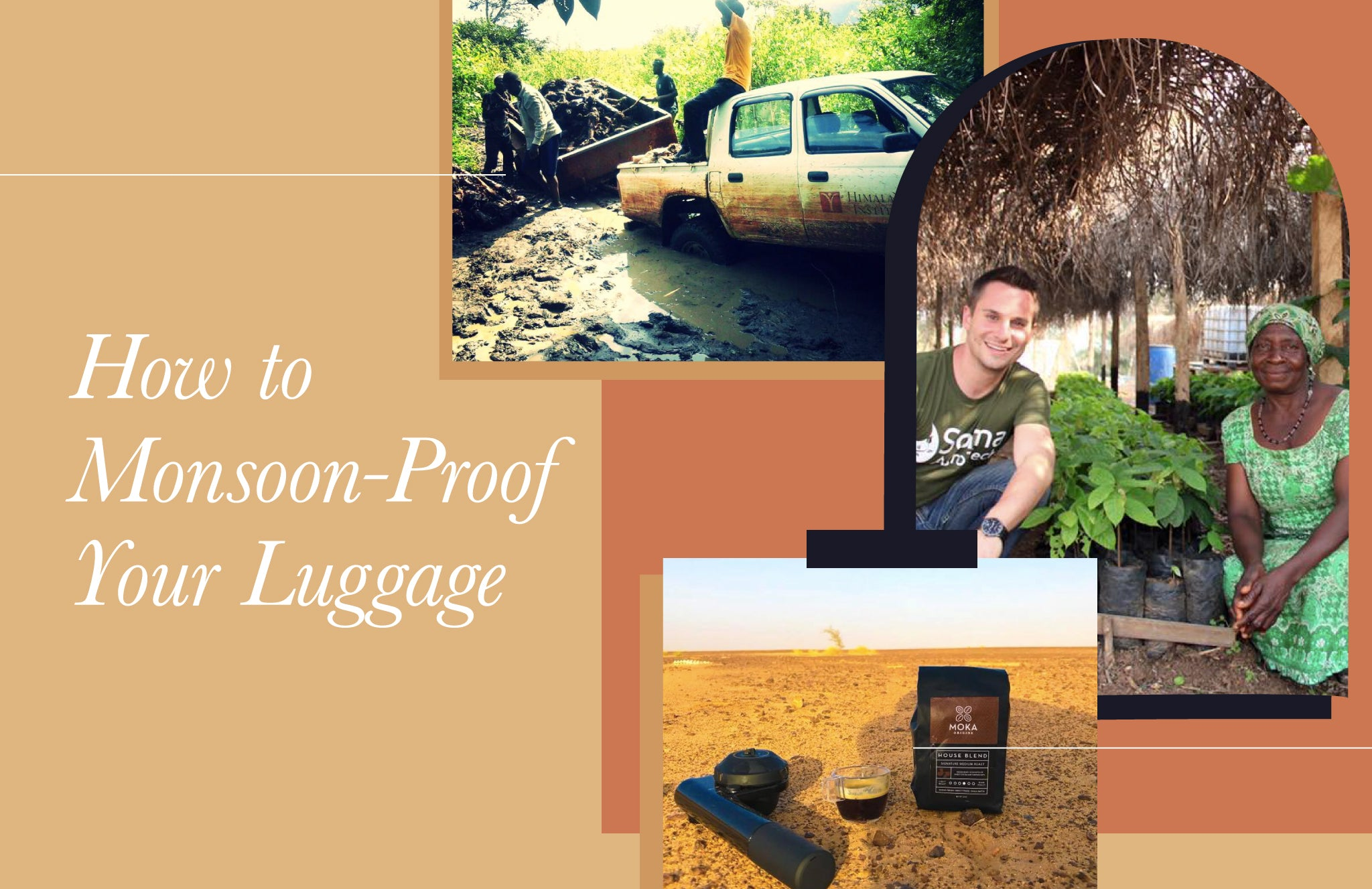 How to Monsoon-Proof Your Luggage