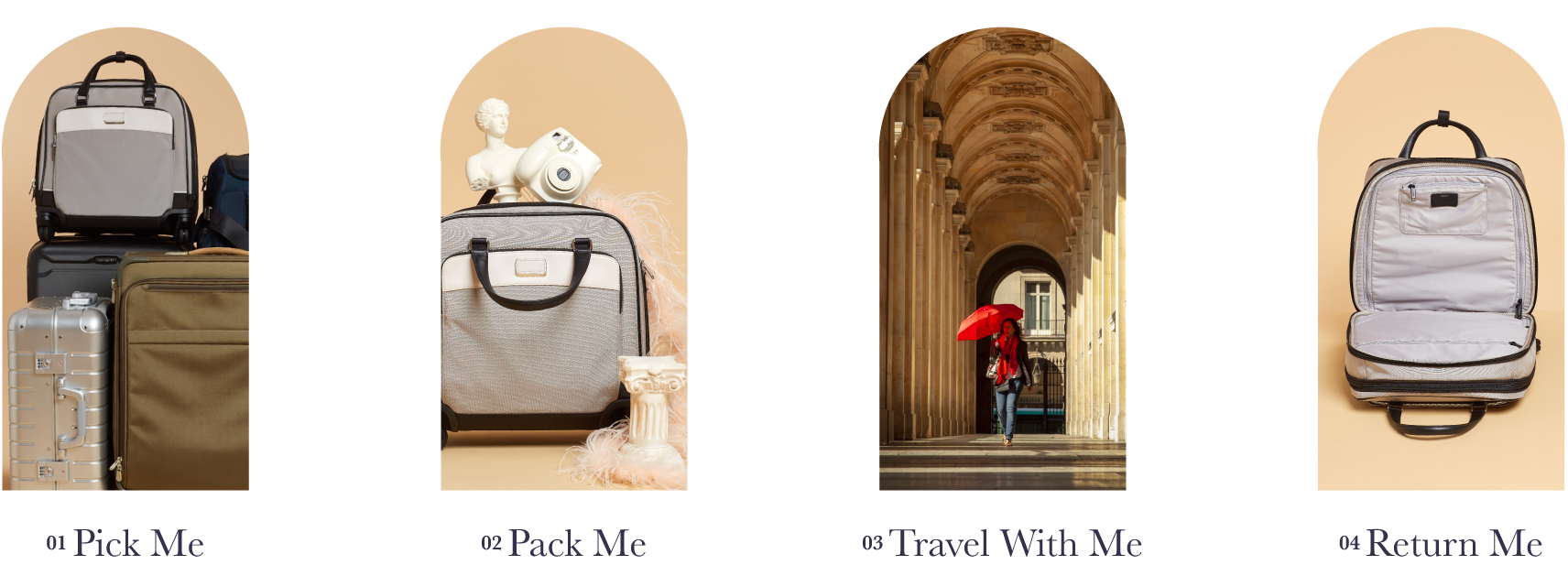 Pick Me, Pack Me, Travel With Me, Return Me | Tumi Carry-On Luggage