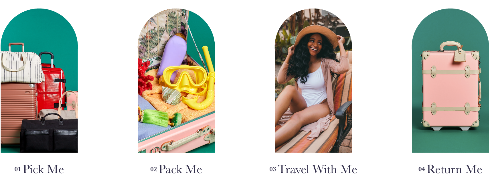 Pick Me, Pack Me, Travel With Me, Return Me