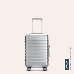 The Carry-On: Aluminum Edition-Away-Casey