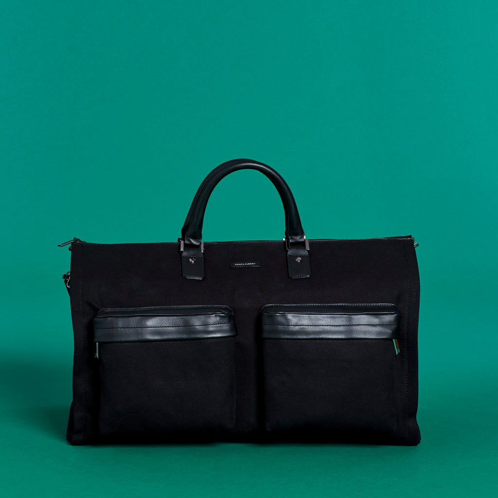 Twill Garment Weekender Bag-Hook & Albert-Casey