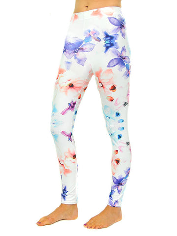 The Dainty Floral Legging - Front