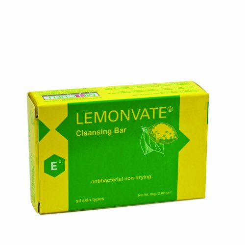 Lemonvate Anti-Bacterial Soap 80g Mitchell Brands - Mitchell Brands - Skin Lightening, Skin Brightening, Fade Dark Spots, Shea Butter, Hair Growth Products