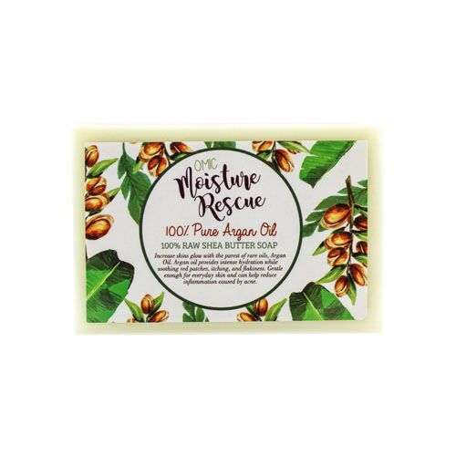 BOGO Moisture Rescue Shea Butter Soap with Argan Oil Omic Moisture Rescue - Mitchell Brands - Skin Lightening, Skin Brightening, Fade Dark Spots, Shea Butter, Hair Growth Products