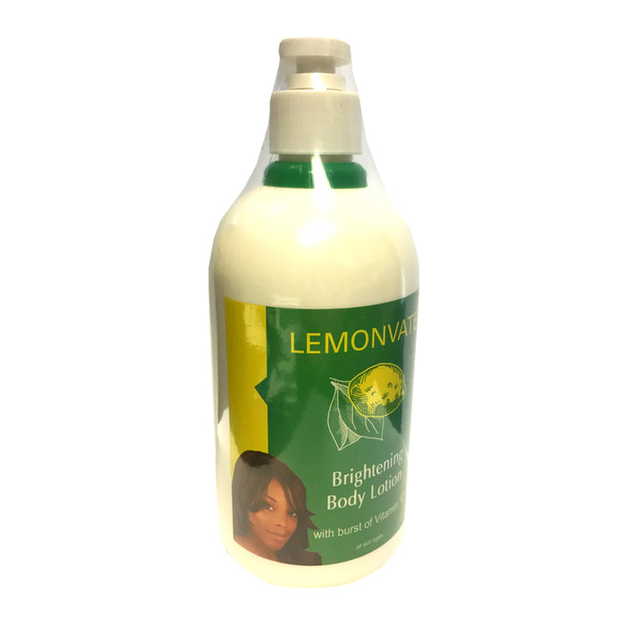 Lemonvate Body Lotion 500ml Mitchell Brands - Mitchell Brands - Skin Lightening, Skin Brightening, Fade Dark Spots, Shea Butter, Hair Growth Products