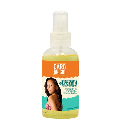 Caro Bright Brightening Glycerin with Carrot Oil 4.4 oz Mitchell Brands - Mitchell Brands - Skin Lightening, Skin Brightening, Fade Dark Spots, Shea Butter, Hair Growth Products