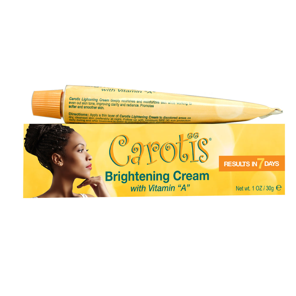 Carotis Brightening Cream with Vitamin A 30g Mitchell Brands - Mitchell Brands - Skin Lightening, Skin Brightening, Fade Dark Spots, Shea Butter, Hair Growth Products
