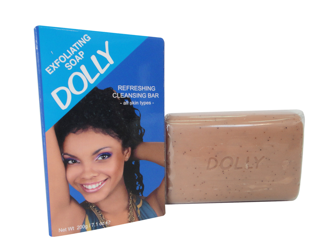 Dolly Exfoliating Soap mitchellbrands - Mitchell Brands - Skin Lightening, Skin Brightening, Fade Dark Spots, Shea Butter, Hair Growth Products