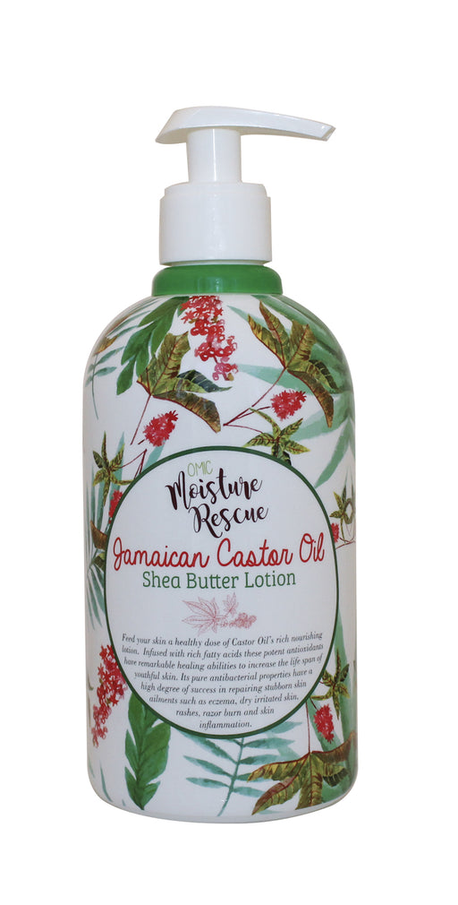 Moisture Rescue Shea Butter Lotion - Jamaican Castor Oil Omic Moisture Rescue - Mitchell Brands