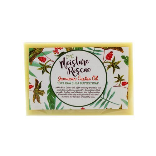 BOGO Moisture Rescue Shea Butter Soap with Jamaican Castor Oil Omic Moisture Rescue - Mitchell Brands - Skin Lightening, Skin Brightening, Fade Dark Spots, Shea Butter, Hair Growth Products