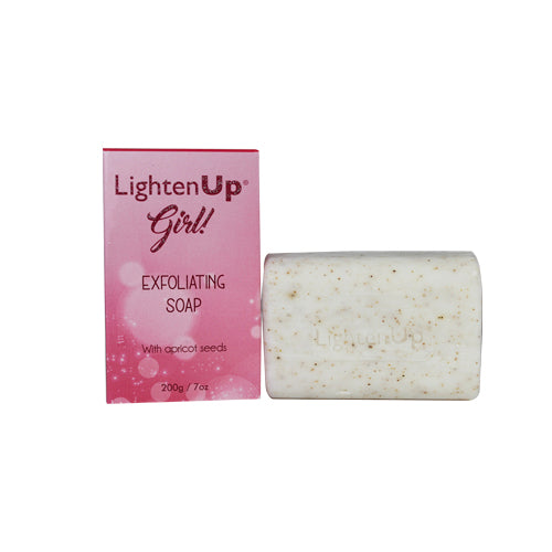LightenUp Girl! Intense Perfection Exfoliating Soap 200g Mitchell Brands - Mitchell Brands - Skin Lightening, Skin Brightening, Fade Dark Spots, Shea Butter, Hair Growth Products
