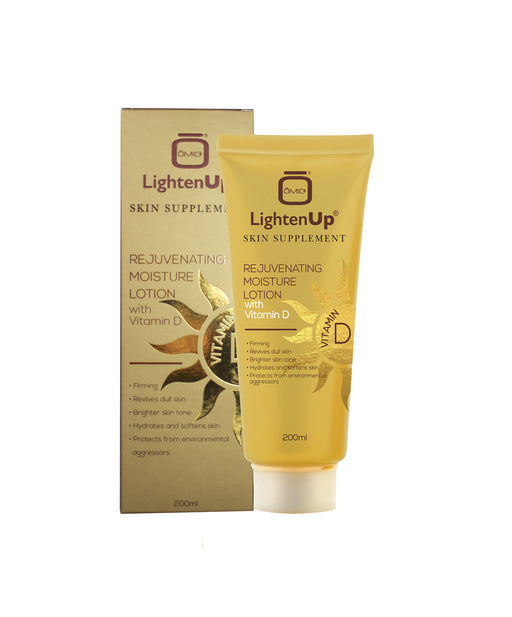 Lighten Up Rejuvenating Moisture Lotion with Vitamin D LightenUp - Mitchell Brands - Skin Lightening, Skin Brightening, Fade Dark Spots, Shea Butter, Hair Growth Products
