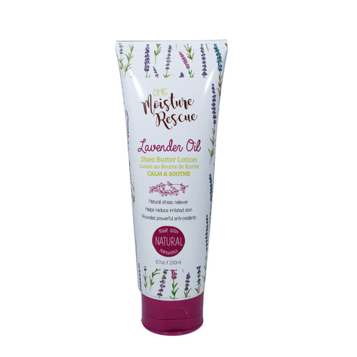 Moisture Rescue Shea Butter Lotion Tube  with Lavender Oil Mitchell Brands - Mitchell Brands - Skin Lightening, Skin Brightening, Fade Dark Spots, Shea Butter, Hair Growth Products