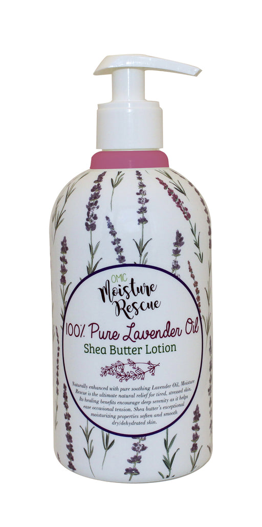 Moisture Rescue Shea Butter Lotion - Lavender Omic Moisture Rescue - Mitchell Brands - Skin Lightening, Skin Brightening, Fade Dark Spots, Shea Butter, Hair Growth Products
