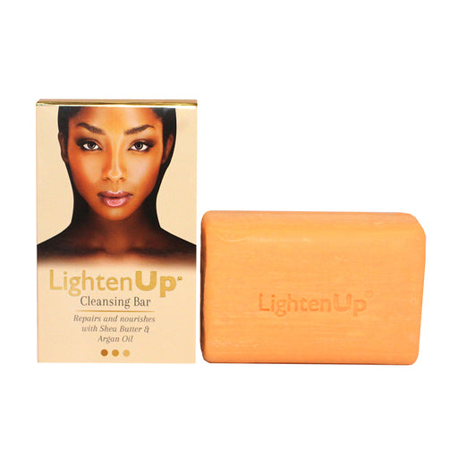 Lighten Up Anti-Aging Cleansing Bar 200g LightenUp - Mitchell Brands - Skin Lightening, Skin Brightening, Fade Dark Spots, Shea Butter, Hair Growth Products