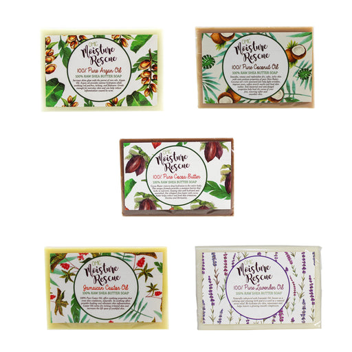 Moisture Rescue Soaps Pack of 5 Mitchell Brands - Mitchell Brands