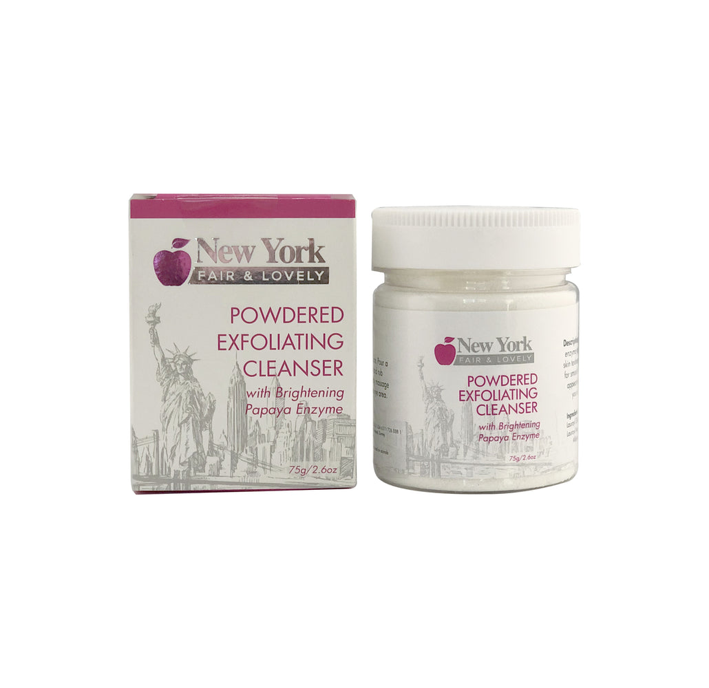 New York Fair & Lovely Powdered Exfoliating Cleanser 75g