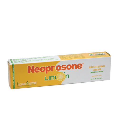 Neoprosone Limon Brightening Cream 50g Neoprosone Limon - Mitchell Brands - Skin Lightening, Skin Brightening, Fade Dark Spots, Shea Butter, Hair Growth Products