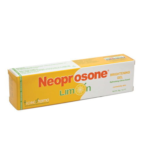 Neoprosone Limon Brightening Gel 30g Neoprosone Limon - Mitchell Brands - Skin Lightening, Skin Brightening, Fade Dark Spots, Shea Butter, Hair Growth Products