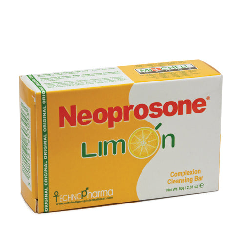 Neoprosone Limon Soap 80g Neoprosone Limon - Mitchell Brands - Skin Lightening, Skin Brightening, Fade Dark Spots, Shea Butter, Hair Growth Products