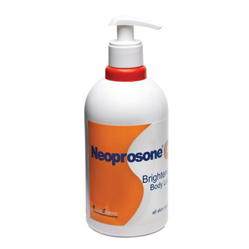 "Neoprosone Vit C Brightening Body Lotion 500ml Neoprosone Vitamin ""C"" - Mitchell Brands - Skin Lightening, Skin Brightening, Fade Dark Spots, Shea Butter, Hair Growth Products"