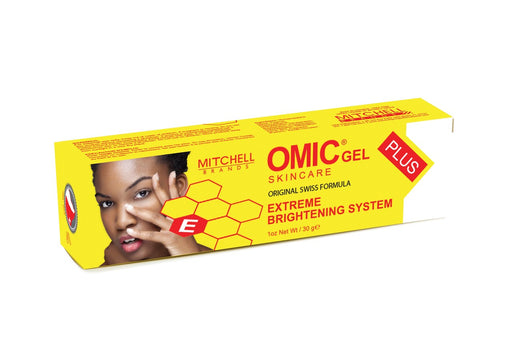 OMIC Gel Plus Extreme Brightening System 30g OMIC Original - Mitchell Brands - Skin Lightening, Skin Brightening, Fade Dark Spots, Shea Butter, Hair Growth Products