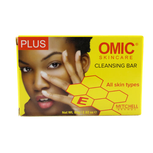 Omic Skincare Plus Cleansing Bar 80g mitchellbrands - Mitchell Brands - Skin Lightening, Skin Brightening, Fade Dark Spots, Shea Butter, Hair Growth Products
